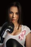 Bröstcancerbegrepp Arkivfoto