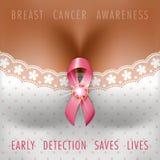 Bröstcancermedvetenhet vektor illustrationer