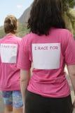 Bröstcancermedvetenhethändelse Fotografering för Bildbyråer