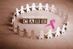 bröstcanceromsorg arkivbilder