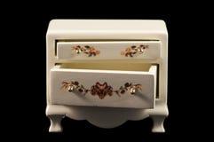 bröstkorgen tecknar miniaturen royaltyfri foto