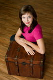bröstkorgkvinna Royaltyfri Fotografi