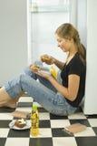 Brötchen schaut appetitanregend lizenzfreie stockbilder
