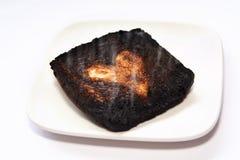 Brûlé avant Photographie stock libre de droits