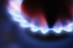 Brûleur à gaz Photo libre de droits
