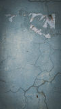 Brüche auf der Zementwand lizenzfreies stockbild