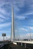 Brücke über Ada Lizenzfreies Stockbild