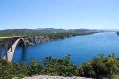 Brücke über chanel Lizenzfreie Stockbilder