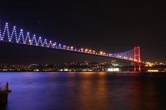 Brücke über dem Bosphorous Stockfotos