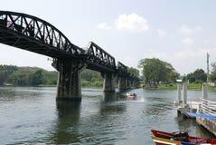 Brücke über dem Fluss Kwai nein 4 stockfotos
