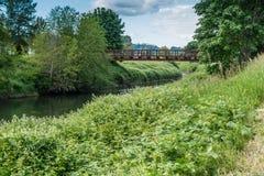 Brücke über dem Green River Lizenzfreie Stockfotografie