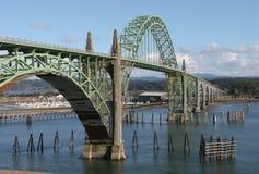 Brücke über dem Schacht Lizenzfreie Stockbilder