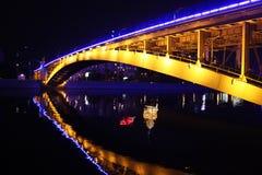 Brücke über Fluss Lizenzfreies Stockbild