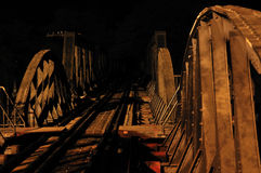 Brücke über Fluss Kwai Lizenzfreie Stockbilder