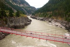 Brücke über Höllen-Gatter Lizenzfreies Stockfoto