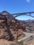 Brücke über Hooverdamm Nevada USA Lizenzfreie Stockbilder