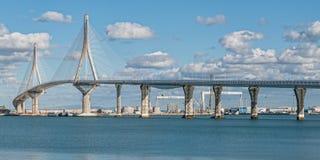 Brücke über Kanal Stockfoto