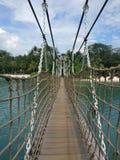 Brücke über Meer Lizenzfreie Stockfotografie