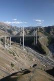Brücke über Tal Stockbild