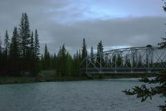 Brücke über Wasser Lizenzfreies Stockbild