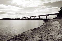 Brücke über Wasser Stockbild