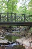 Brücke über Wasser Stockfotos