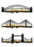 Brücke lizenzfreie abbildung