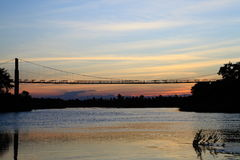 Brücke. Stockfoto