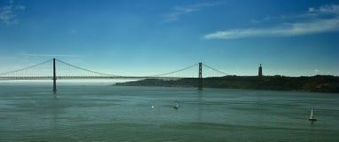 Brücke 25 Avril Stockbild
