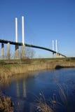 Brücke 3 der Königin Elizabeth Stockfotos