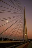 Brücke Ada in Belgrad Lizenzfreies Stockfoto