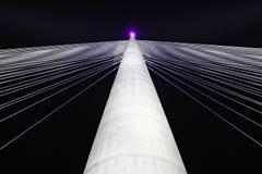 Brücke Ada, Belgrad Lizenzfreie Stockfotos