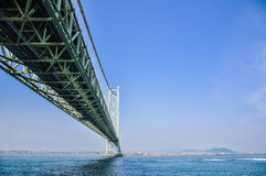 Brücke Akashi-Kaikyo Stockfotos