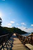 Brücke an aparallang Klippen bulukumba Stockbilder