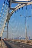 Brücke Apollo in Bratislava Stockbilder