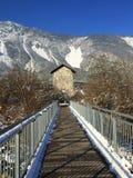 Brücke auf anderer Seite Lizenzfreie Stockfotografie