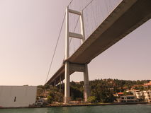Brücke auf dem Bosphorus Lizenzfreies Stockbild