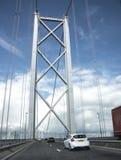Brücke auf der Autobahn Stockfoto