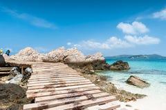 Brücke auf Meer Lizenzfreie Stockbilder