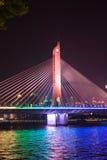 Brücke auf Pearl River Lizenzfreie Stockbilder