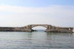 Brücke auf Wasser Lizenzfreies Stockbild