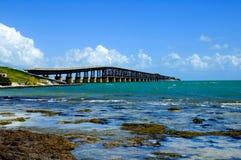 Brücke Bahia-Honda Stockfotografie
