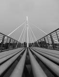 Brücke in Ballina Stockbild