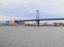 Brücke Ben-Franklin Lizenzfreie Stockbilder