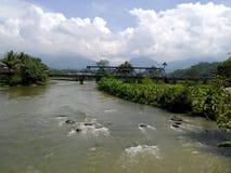 Brücke Bobotsari Lizenzfreie Stockbilder