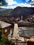 Brücke in Bosnien lizenzfreie stockbilder