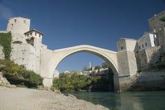 Brücke Bosnien-Mostar Stockfoto