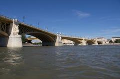 Brücke in Budapest Lizenzfreies Stockfoto
