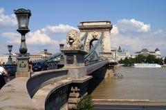 Brücke in Budapest Stockfoto