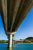 Brücke in Cingoli Marken Italien Lizenzfreie Stockbilder